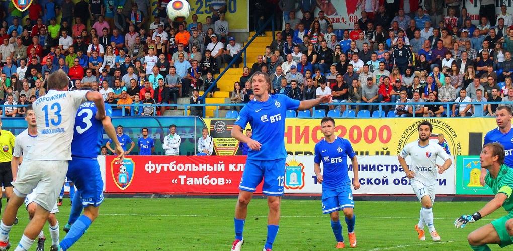 В прямом эфире: матч ФК «Тамбов» покажут по «Матч! Наш спорт»
