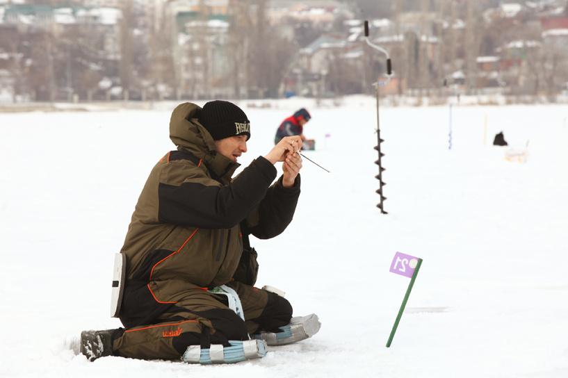 Тамбовские рыбаки показали не самый удачный улов