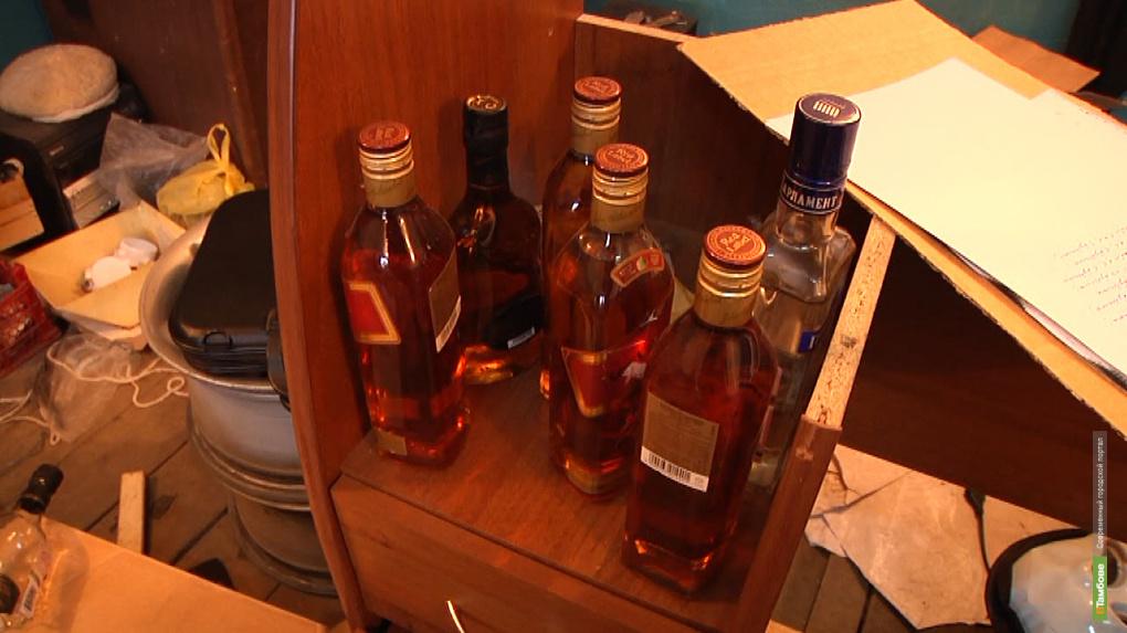 В Тамбове «прикрыли» гараж с «паленым» алкоголем