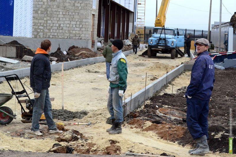 Учебно-тренировочную базу ВТамбове обещают достроить в срок