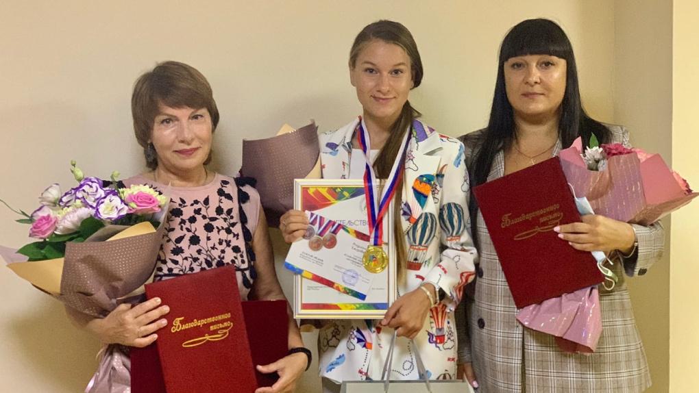 Юная тамбовчанка победила на ХX Молодежных Дельфийских играх России