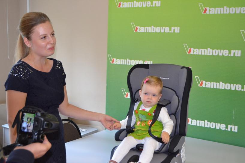 В редакции портала ВТамбове наградили победителя конкурса «Мой малыш — путешественник»