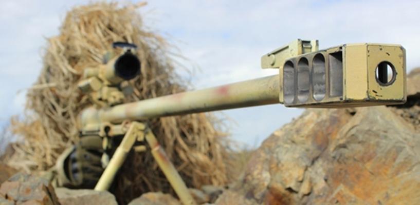 Под Тамбовом снайперы учились поражать бронетехнику из крупнокалиберных винтовок