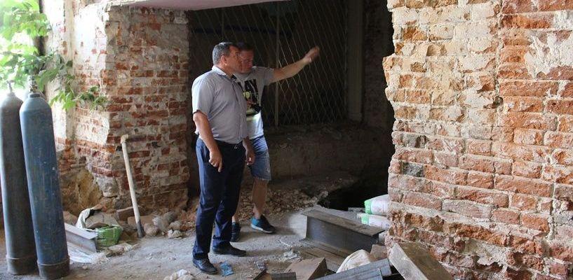 Жильцы обрушившегося дома в Мичуринске до сих пор не могут вернуться в свои квартиры