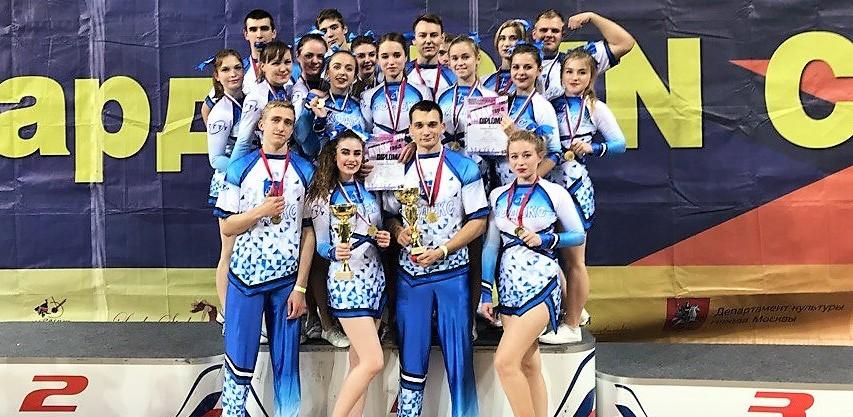 Команда по черлидингу ТГТУ завоевала две победы на соревнованиях в Москве