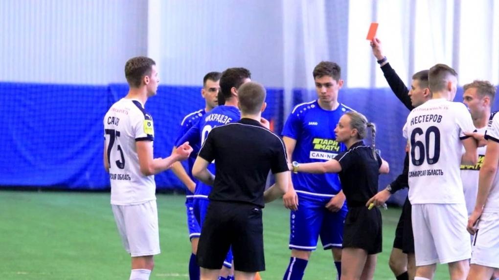Есть видео драки с матча молодежных команд Тамбова и Самары