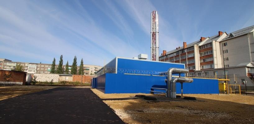 В Мичуринске запустили новую котельную, построенную на деньги проекта «Малые города»
