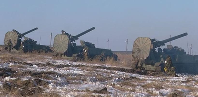 Под Тамбовом прошли масштабные военные учения