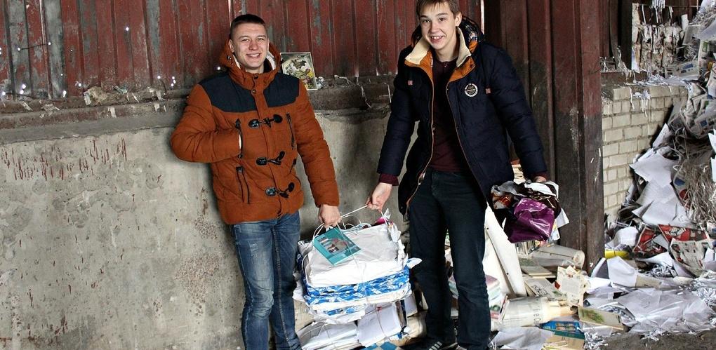 В Тамбовском филиале РАНХиГС собрали 200 кг макулатуры
