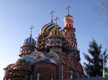 На Вознесенском соборе появился главный купол