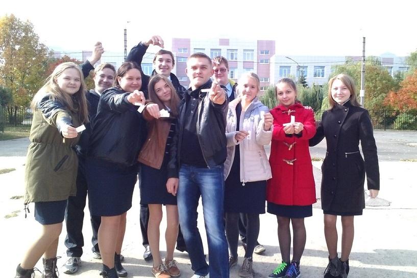 Тамбовская молодежь устроила акцию «Просто так»