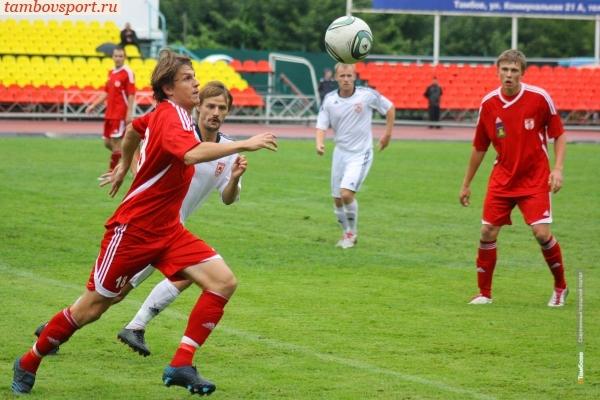 Домашний матч тамбовского «Спартака» закончился вничью