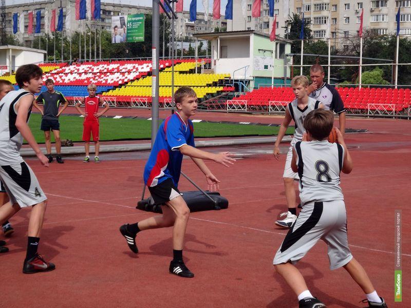 В Тамбове прошли областные соревнования «Оранжевый мяч»