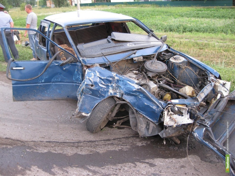 На трассе «Тамбов-Пенза» по вине неопытного водителя в ДТП пострадали три человека