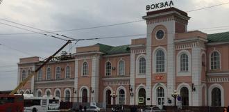 После ремонта в здании ж/д вокзала появятся комфортные залы ожидания и комнаты отдыха