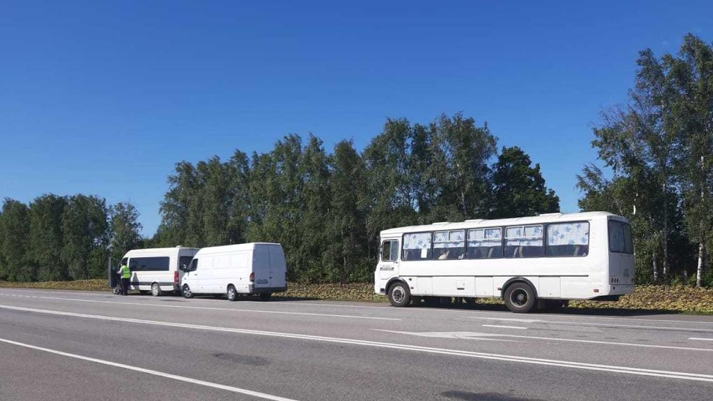 Тамбовские инспекторы наказали десяток водителей за нарушение правил перевозок пассажиров