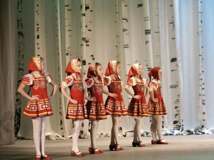 В Мичуринске прошел фестиваль русского народного танца
