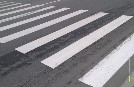 ВТамбове на пешеходном переходе Лада Калина сбила мужчину