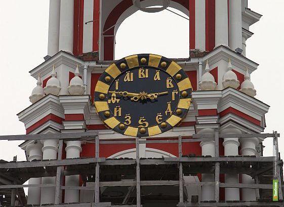 На колокольне «у Зои» взгляду прохожих открылись часы