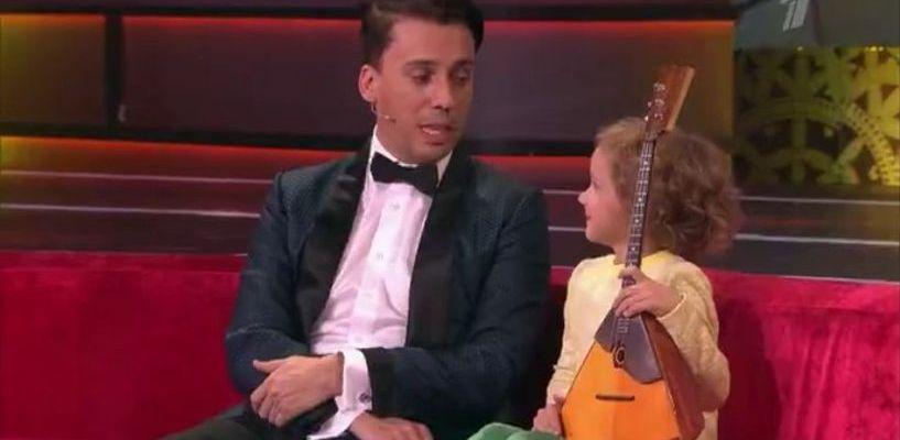 Балалаечница из Тамбова участвует в шоу талантов на Первом канале