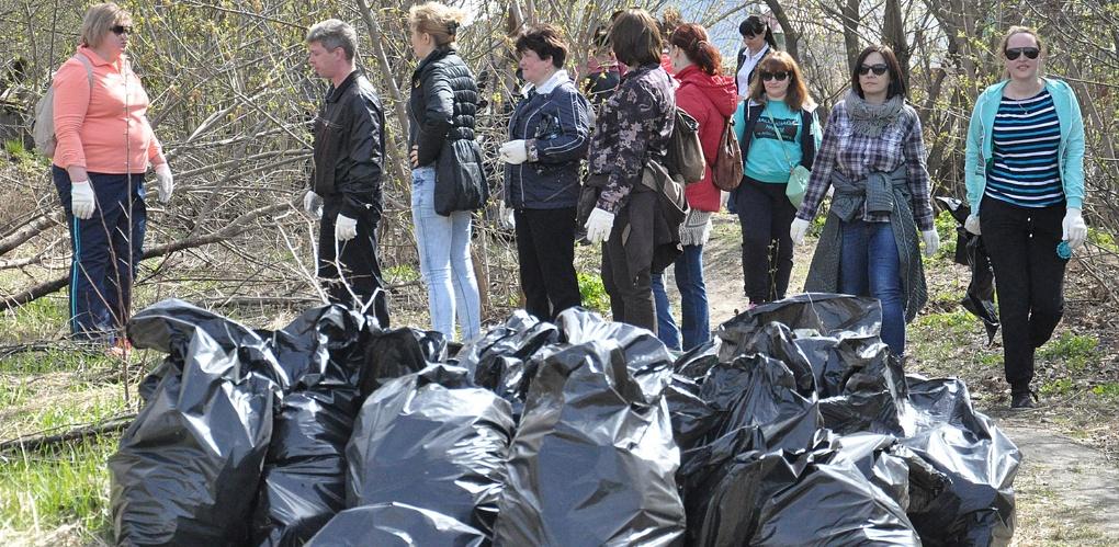 За месяц с различных территорий Тамбова вывезли 3 тысячи тонн мусора