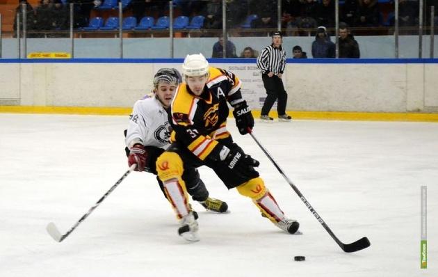 У тамбовских хоккеистов затянулась полоса проигрышей