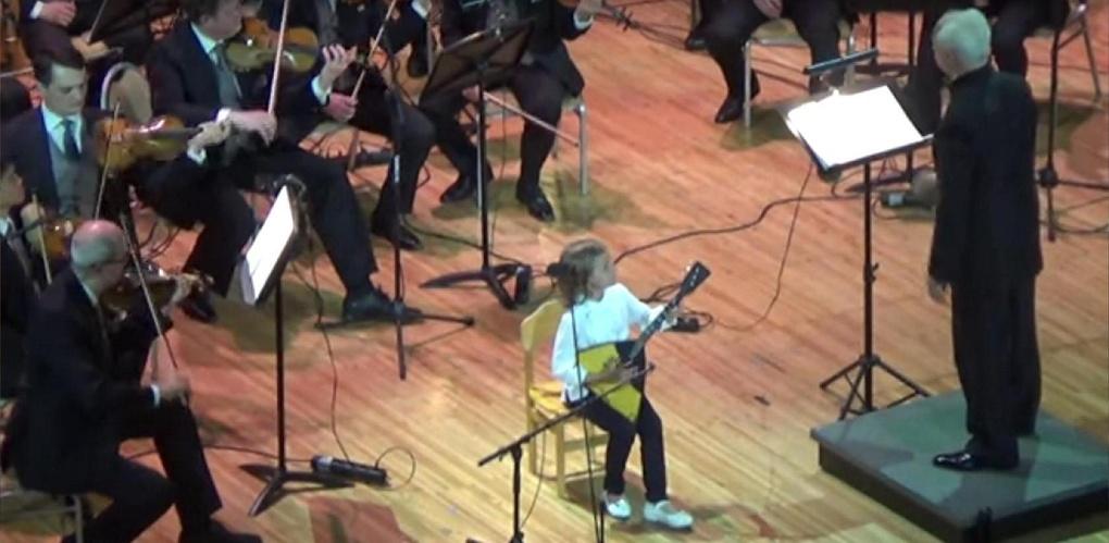 Анастасия Тюрина выступила с камерным оркестром «Виртуозы Москвы»