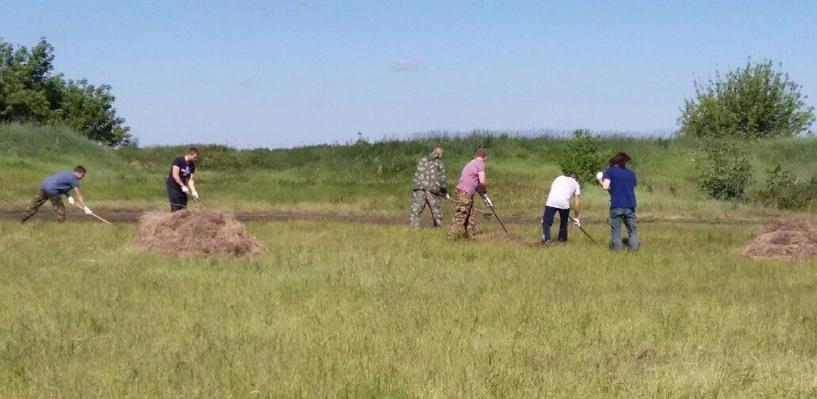 Площадку рядом с Татарским валом начали готовить к проведению «Чернозёма»