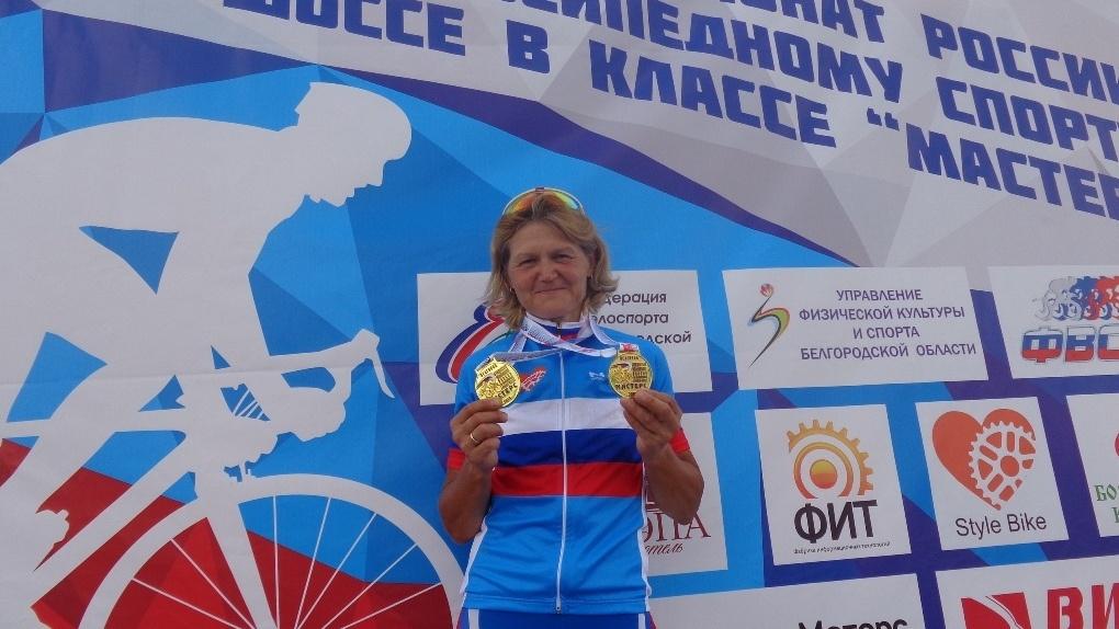 Тамбовчанка Марина Осипова вновь подтвердила звание лучшей велосипедистки России