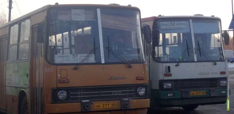 В Тамбове снова стали ходить автобусы по маршруту 51М