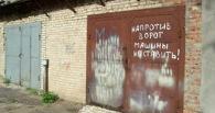 Жителей Мичуринска убедительно просят покрасить гаражи