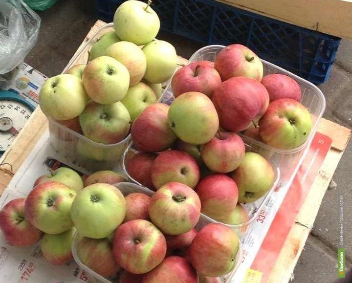 На тамбовских прилавках появились местные яблоки