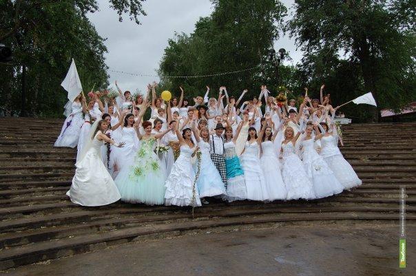 Невесты пройдут по Тамбову парадом