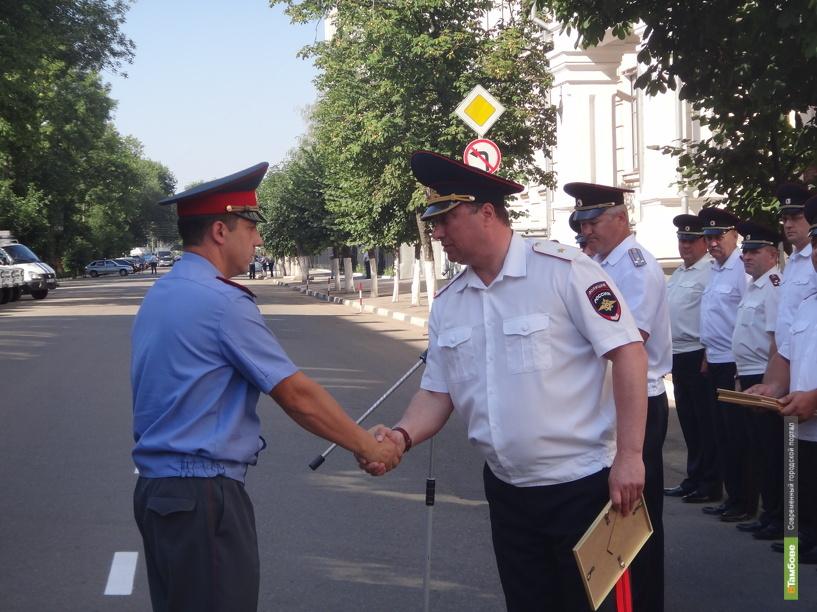 Тамбовские полицейские стали 9-ми по стране