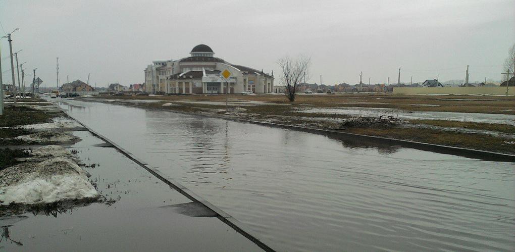 Городские власти предупреждают о вероятности паводка на предстоящей неделе