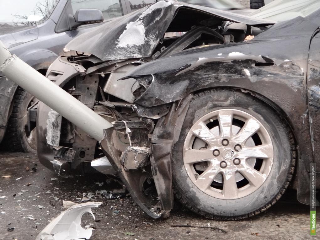 На тамбовских дорогах растет аварийность