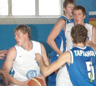 БК «Тамбов» проиграл два матча Ставропольскому «Динамо»