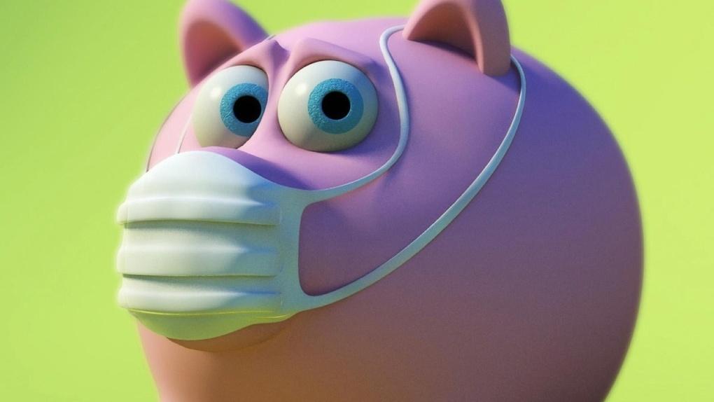 Еще один человек на прошлой неделе заболел свиным гриппом