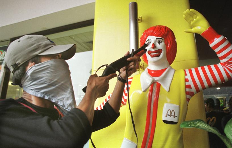 Тамбовчанина посадили за разбой в московском «Макдоналдсе»