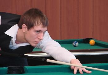 24-летний тамбовчанин стал лучшим бильярдистом области