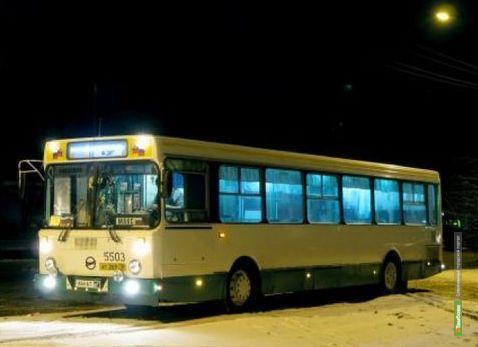 Тамбовские автобусы выйдут на маршруты в крещенскую ночь