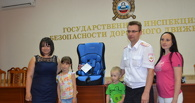 Юная тамбовчанка выиграла автокресло в фотоконкурсе «Дети рулят!»