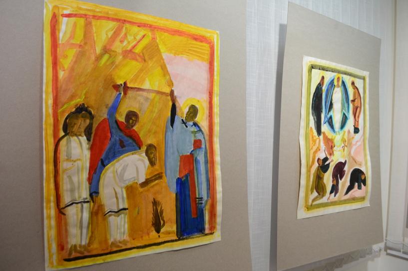 В «Новой галерее» открылась выставка картин по мотивам библейских сюжетов