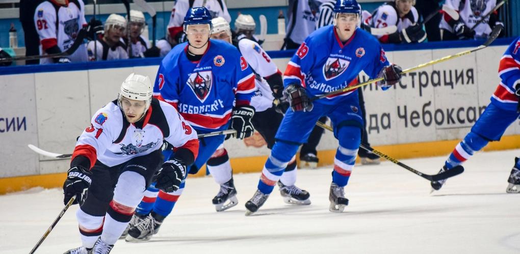 Тамбовские хоккеисты взяли реванш у чебоксарской команды