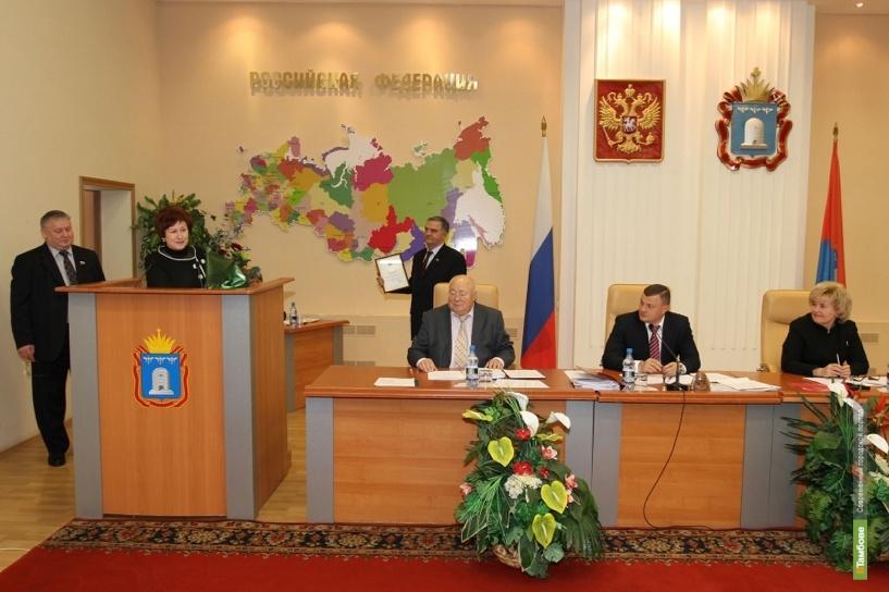 Александра Боброва отметили в Совете Федерации