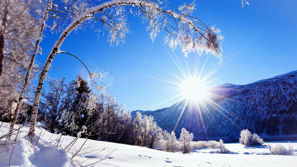 Мороз и солнце, день чудесный! К нам идёт зима