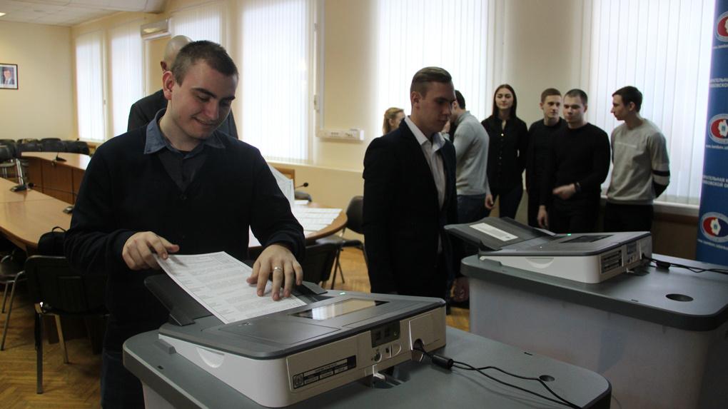 В Тамбовской области протестировали сигнальные бюллетени для выборов президента