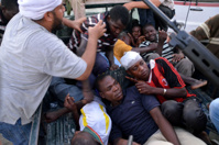 Повстанцы пытаются найти Муамара Каддафи в Триполи