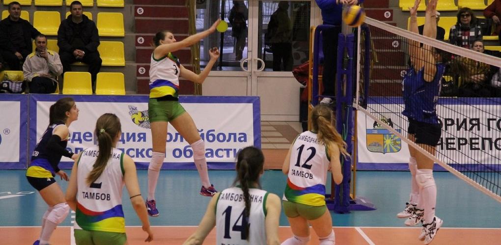 ВК «Тамбовчанка» выиграл первый матч финала I Лиги