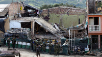 В Колумбии взорвали полицейский участок